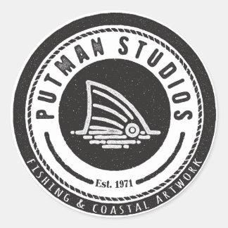 Putman Studios Oval Sticker