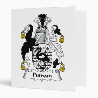 Putnam Family Crest Binder