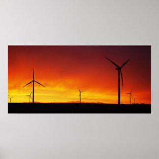 Putnam Windmills Poster
