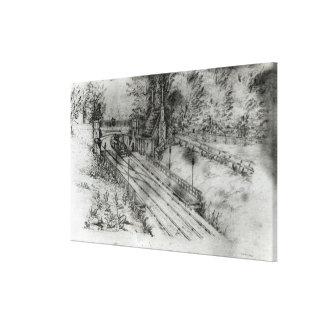 Putney Railway Station Canvas Print