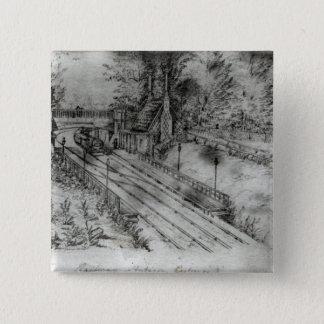 Putney Railway Station Pinback Button