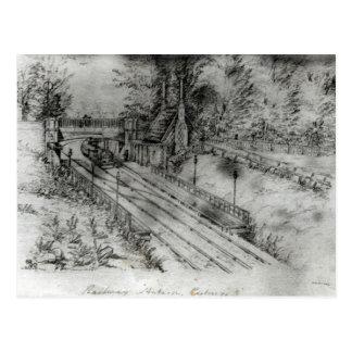 Putney Railway Station Postcard