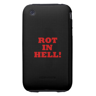 Putrefacción en infierno iPhone 3 tough protectores