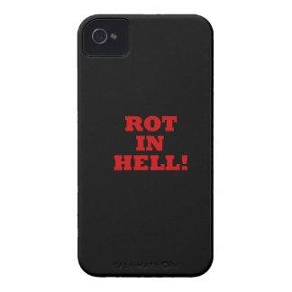 Putrefacción en infierno iPhone 4 Case-Mate funda
