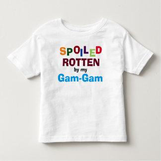 Putrefacto estropeada por mi camiseta del bebé de remera