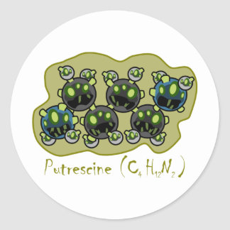 Putrescine Sticker