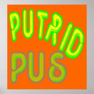 putrid pus poster