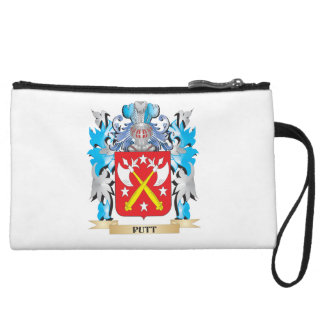 Putt Coat of Arms - Family Crest Wristlet Purse