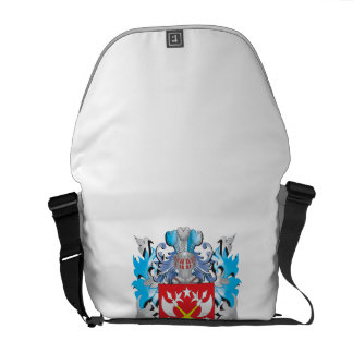 Putt Coat of Arms - Family Crest Messenger Bags