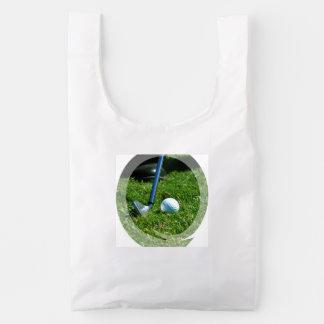 Putt del golf bolsa reutilizable