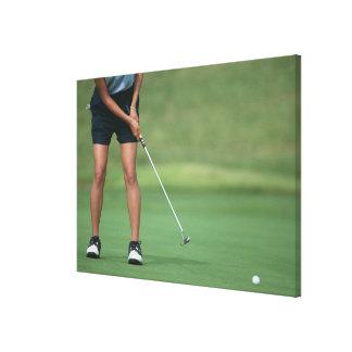 Putt (Golf) Canvas Print