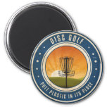 Putt Plastic In Its Place 2 Inch Round Magnet