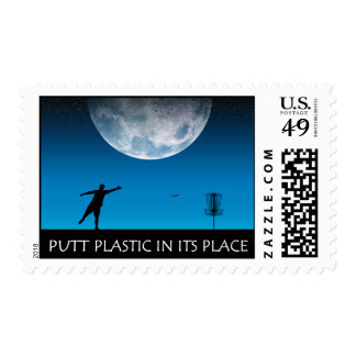 Putt Plastic In Its Place #6 Postage