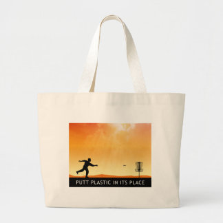 Putt Plastic In Its Place Canvas Bag