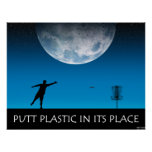 Putt Plastic In Its Place Print