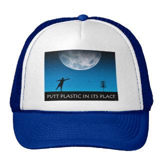 Putt Plastic In Its Place Trucker Hat
