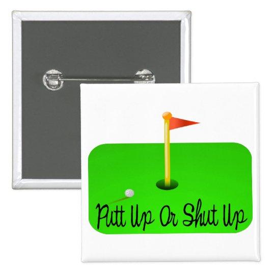 Putt Up Button
