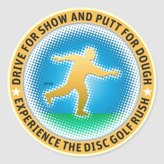 Putter Dude #2 Classic Round Sticker