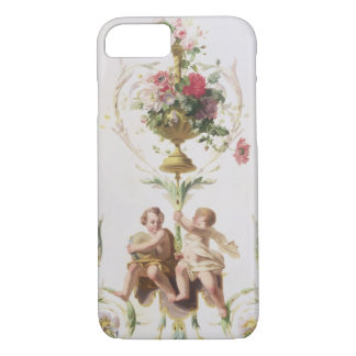 Putti amid swags of flowers and leaves iPhone 7 case