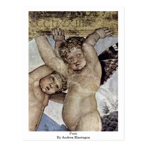 Putti By Andrea Mantegna Postcards
