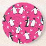 Puttin del pingüino en el Ritz Posavasos Diseño