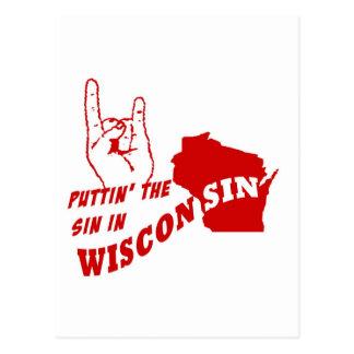 Puttin el pecado en Wisconsin Postal