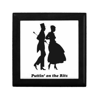 Puttin en el Ritz Joyero Cuadrado Pequeño