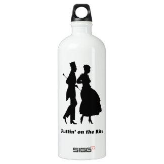 Puttin' on the Ritz Aluminum Water Bottle