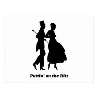 Puttin' on the Ritz Postcard