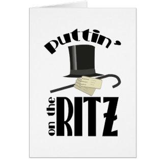 Puttin Ritz Card