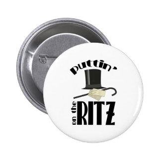 Puttin Ritz Pin Redondo De 2 Pulgadas