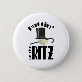 Puttin Ritz Pinback Button
