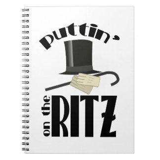 Puttin Ritz Spiral Notebook