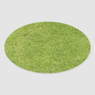 Putting Green Oval Sticker