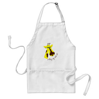 Putting My Neck Out Adult Apron