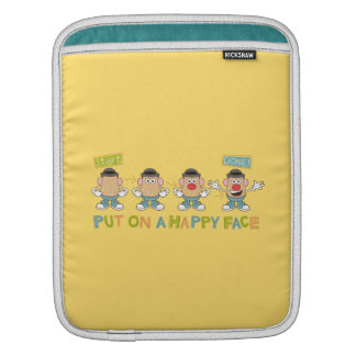 Putting on a Happy Face iPad Sleeve