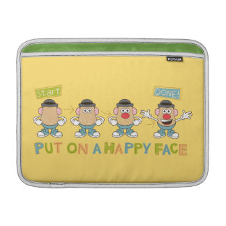 Putting on a Happy Face MacBook Air Sleeve