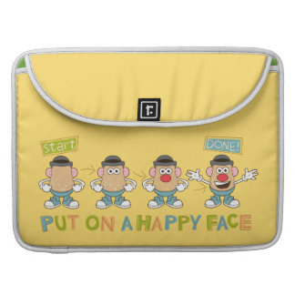 Putting on a Happy Face MacBook Pro Sleeve