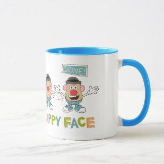 Putting on a Happy Face Mug