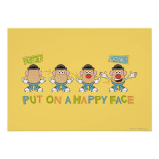 Putting on a Happy Face Poster