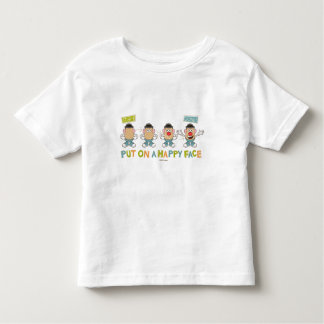 Putting on a Happy Face Toddler T-shirt