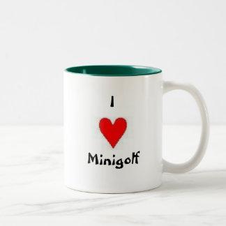 Putting Penguin Mug
