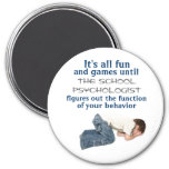 Putting the Fun in Functional Behavioral Analysis 3 Inch Round Magnet