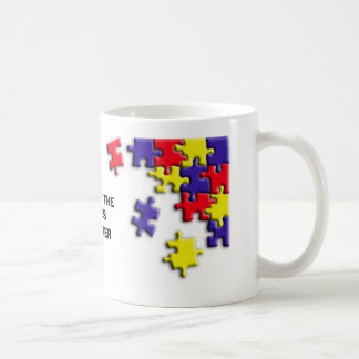 PUTTING THE PIECES TOGETHER CLASSIC WHITE COFFEE MUG