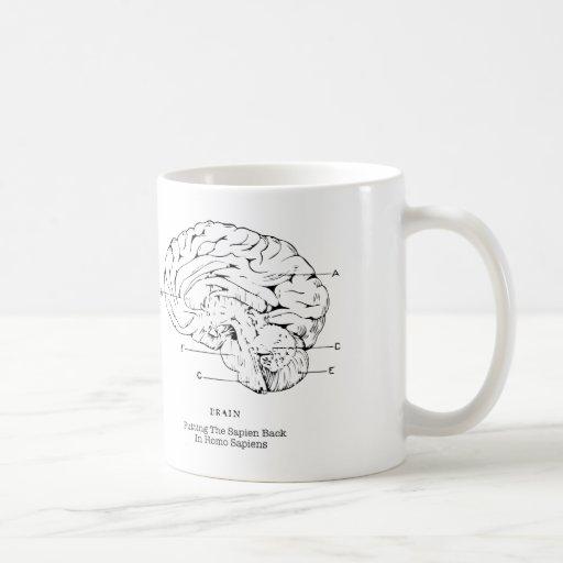 Putting the Sapien Back in Homo Sapiens Mug