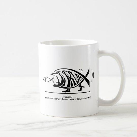 Putting the Win in Darwin (by sethness@deviantart) Coffee Mug