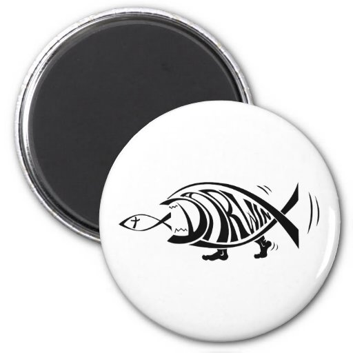 Putting the Win in Darwin (by sethness@deviantart) 2 Inch Round Magnet