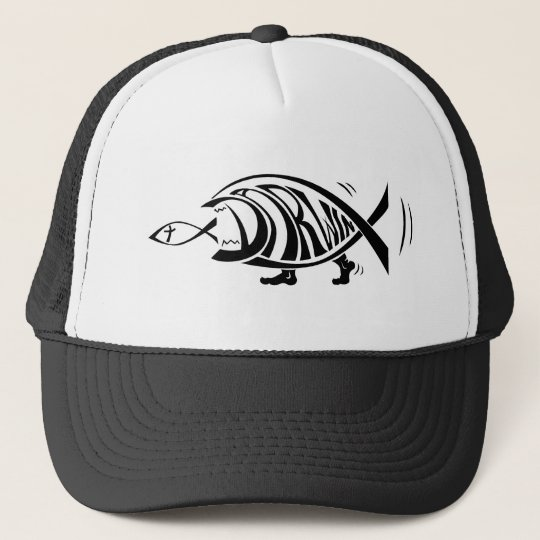 Putting the Win in Darwin (by sethness@deviantart) Trucker Hat