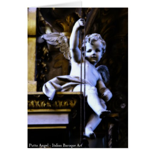 Putto Angel Greeting Card