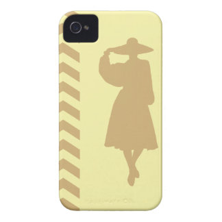 Putty Cream Neutral Chevrons Fashion iPhone 4 Cover
